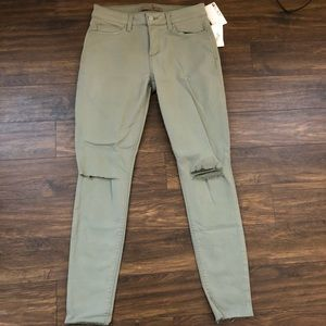 Green Joe's Jeans Ankle length